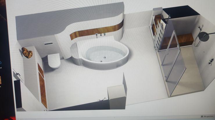 Feng Shui Ulrich holz -Baddesign Ausgefallene Badezimmer