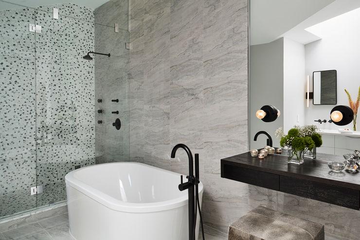 Carroll Street M Monroe Design Modern Bathroom