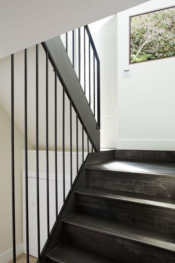 Carroll Street M Monroe Design Scandinavian style corridor, hallway& stairs