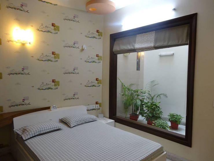 Residence at Meerut Ar. Sandeep Jain Modern style bedroom