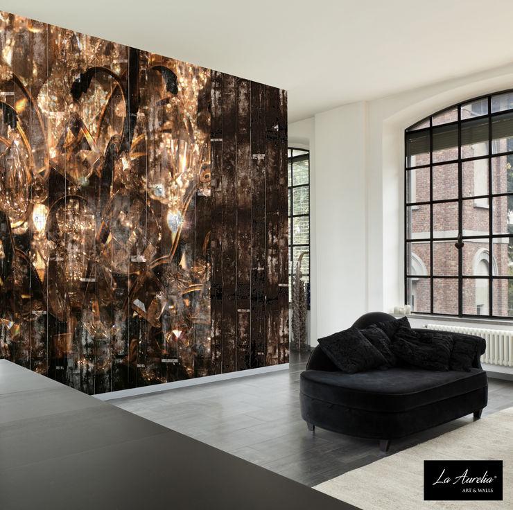 La Aurelia Walls Amber/Gold