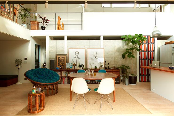 すわ製作所 Eclectic style dining room