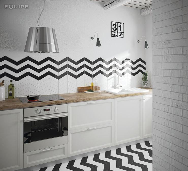 homify Scandinavian style kitchen Ceramic