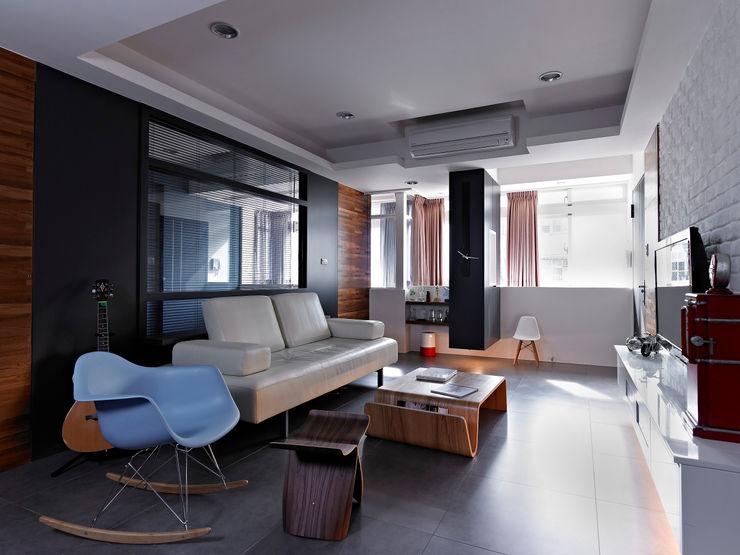 采金房 Interior Design Вітальня
