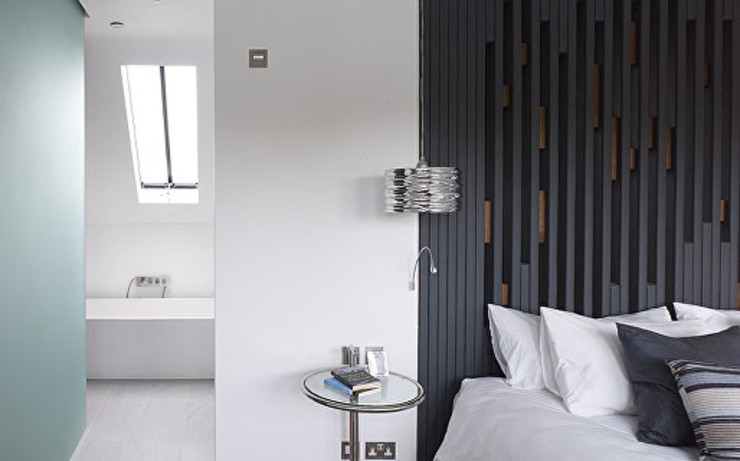 Gallery House on Richmond Park Elemental Architecture Chambre moderne