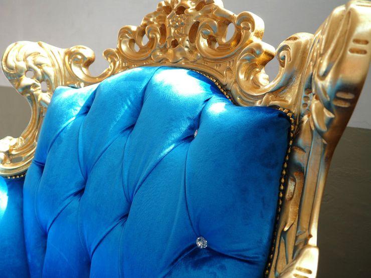VICIANI SalonesSofás y sillones Plata/Oro