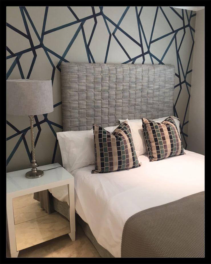 Frans Alexander Interiors Modern style bedroom