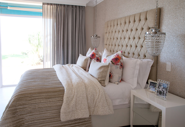 Project # Frans Alexander Interiors Modern style bedroom