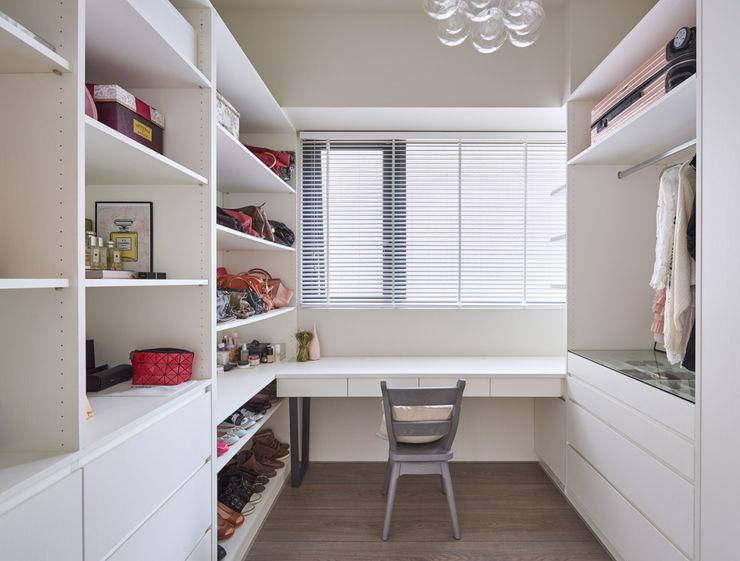 思維空間設計 Eclectic style dressing room