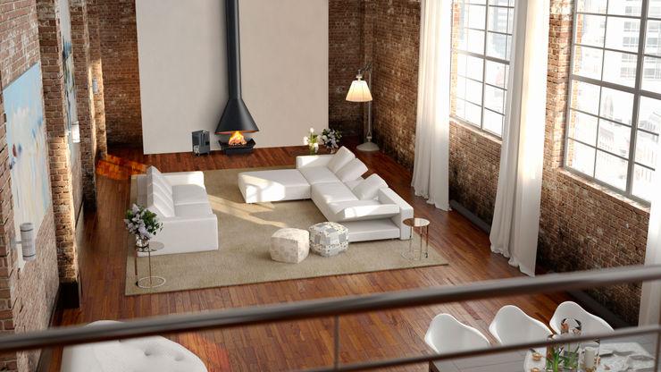 DAE Living roomFireplaces & accessories Metal Black