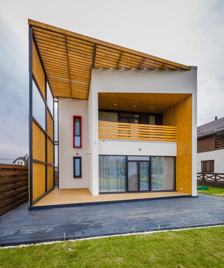 Grynevich Architects 房子 木頭 White