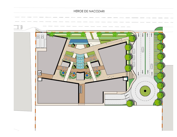 Segovia ARQ Offices & stores