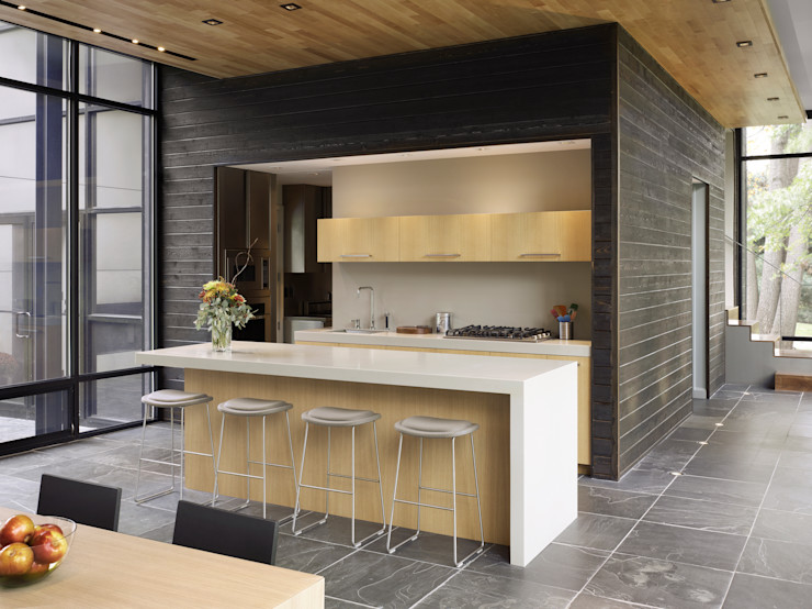 Dangle Byrd House, Koko Architecture + Design Koko Architecture + Design Modern Kitchen
