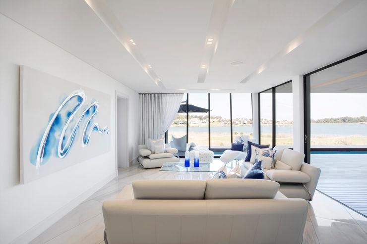 FRANCOIS MARAIS ARCHITECTS Modern living room