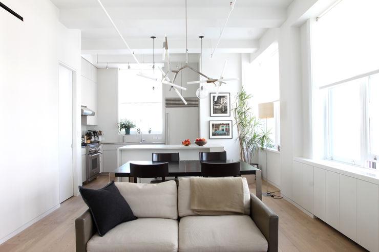 Maletz Design Salon moderne Blanc