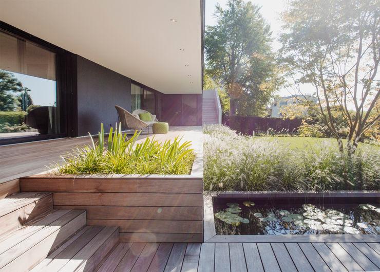 meier architekten zürich Jardin moderne Bois