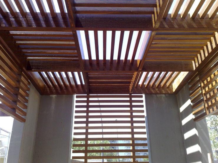VIER ABINET S.A. Pisos & Decks Piscine moderne Bois massif Effet bois