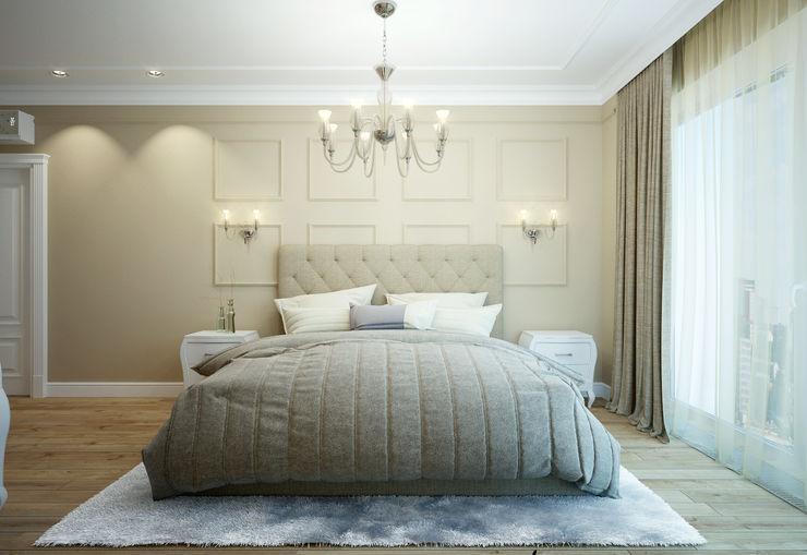 Rubleva Design Modern style bedroom
