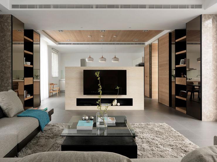 夏沐森山設計整合 Modern Living Room