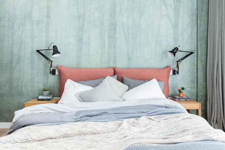 Modern New Home in Hampstead - guest bedroom Black and Milk | Interior Design | London BedroomBeds & headboards