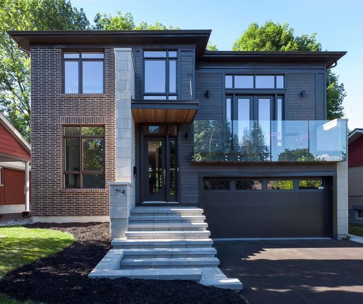 McKellar Park New Home Jane Thompson Architect Modern houses Wood Grey