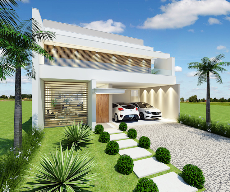 Arquiteto Tales Miranda Modern houses White