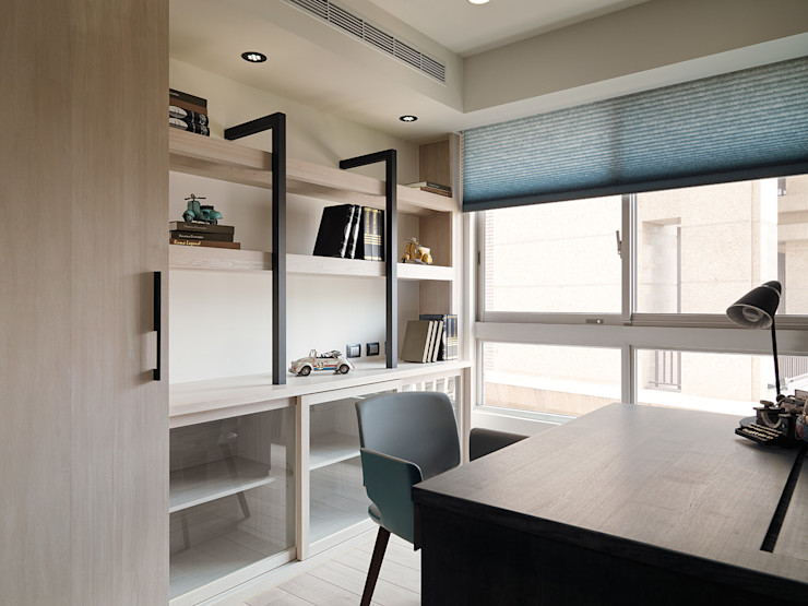 陶璽空間設計 Minimalistische Arbeitszimmer