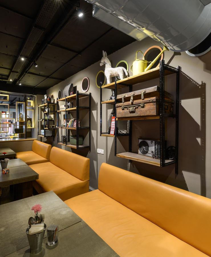 #Adda Studio K-7 Designs Pvt. Ltd Eclectic style bars & clubs