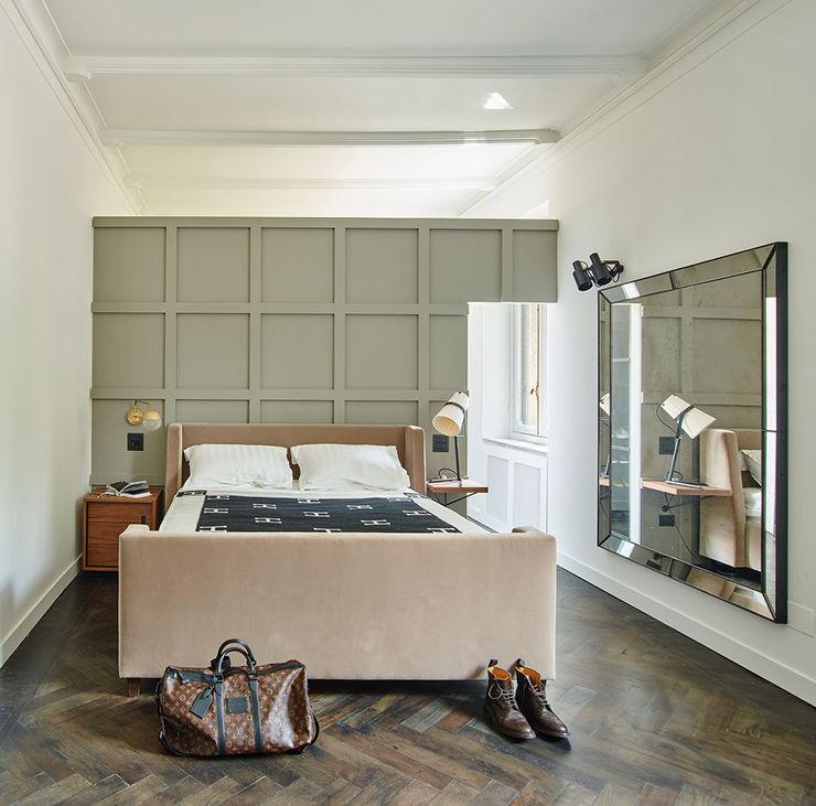 MONCALVO Studio Fabio Fantolino Camera da letto moderna