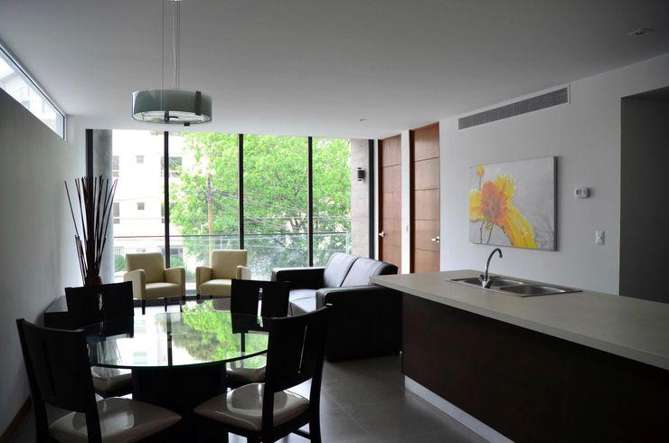 TREVINO.CHABRAND | Architectural Studio Sala da pranzo moderna
