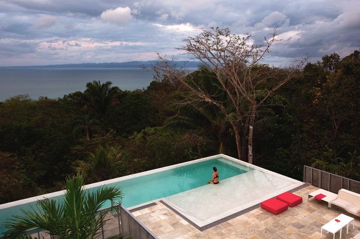 Casa Torcida SPG Architects Modern Pool