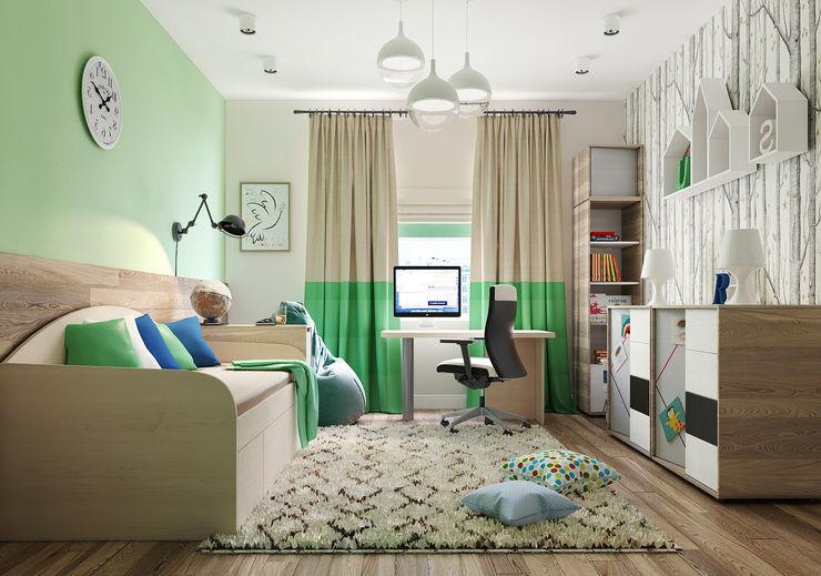 Vera Rybchenko Nursery/kid's room Wood effect