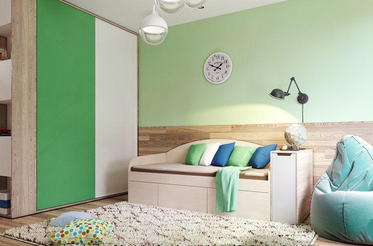 Vera Rybchenko Nursery/kid's room Green
