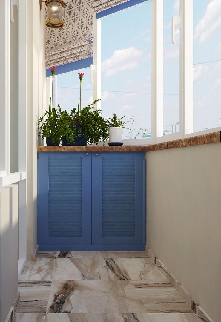 Vera Rybchenko Patios & Decks Blue