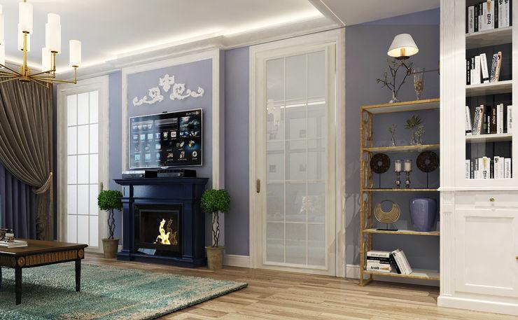 Vera Rybchenko Living room Purple/Violet