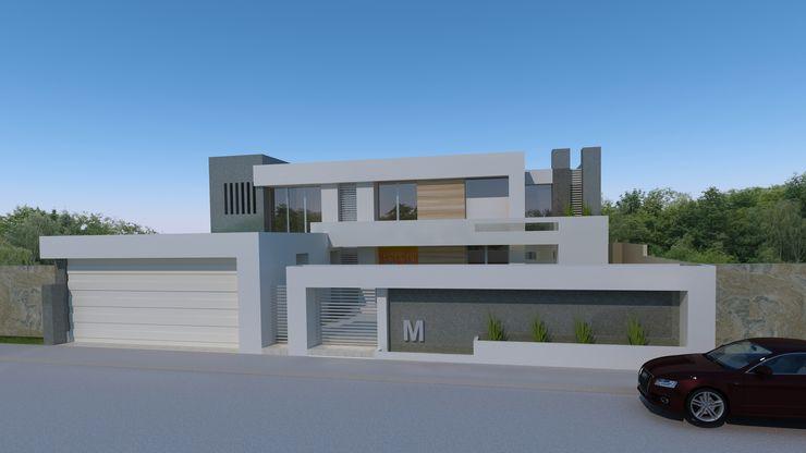 Casa Miradores del Mar CouturierStudio Casas minimalistas