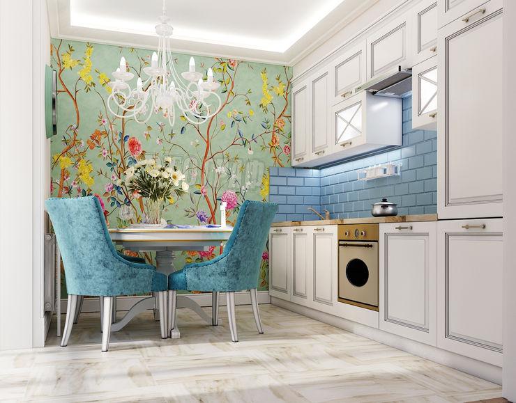 Vera Rybchenko Kitchen Blue