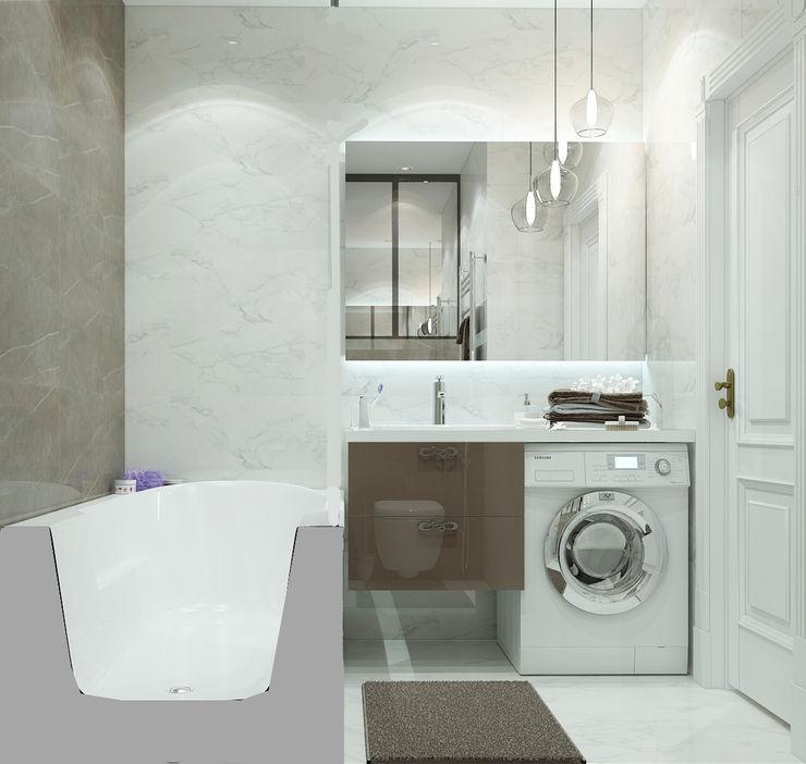 Vera Rybchenko Modern Bathroom Brown