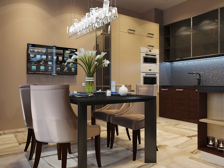Vera Rybchenko Modern Kitchen Brown