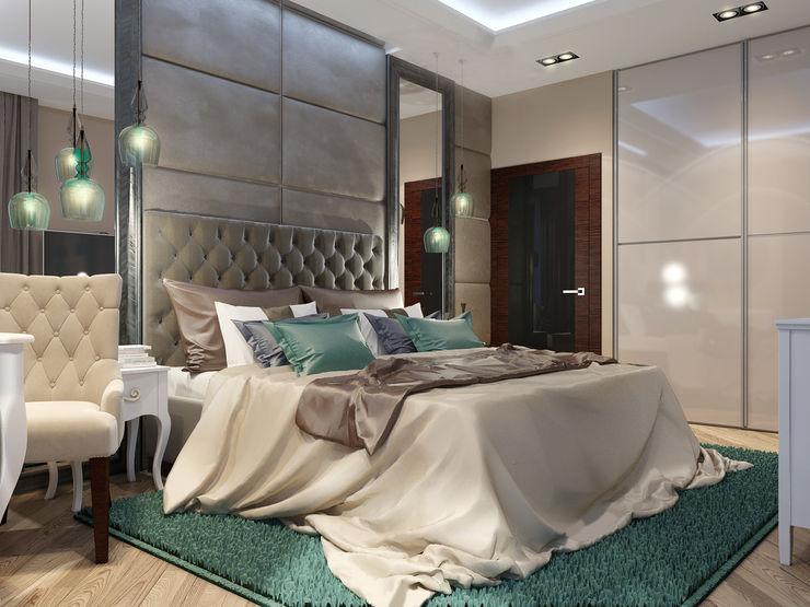 Vera Rybchenko Modern Bedroom Green