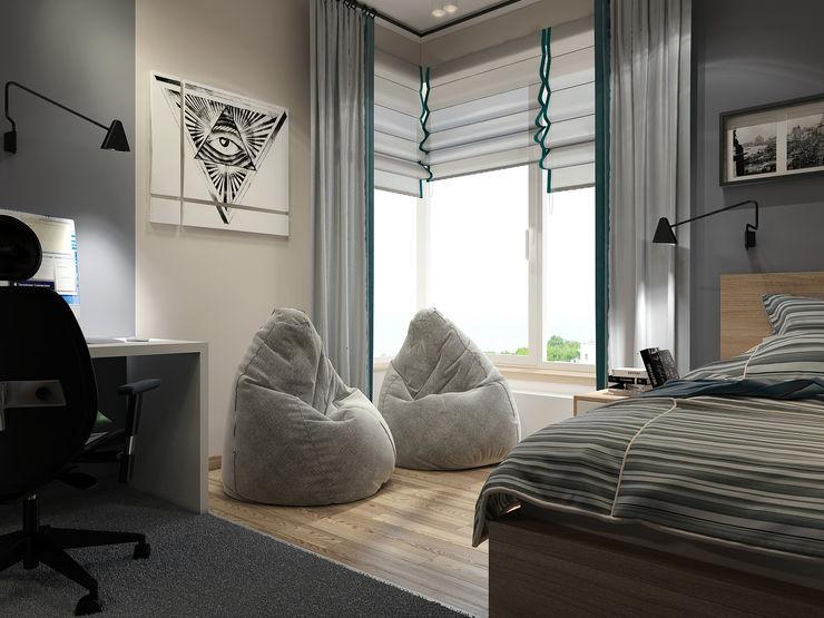 Vera Rybchenko Modern Kid's Room Grey
