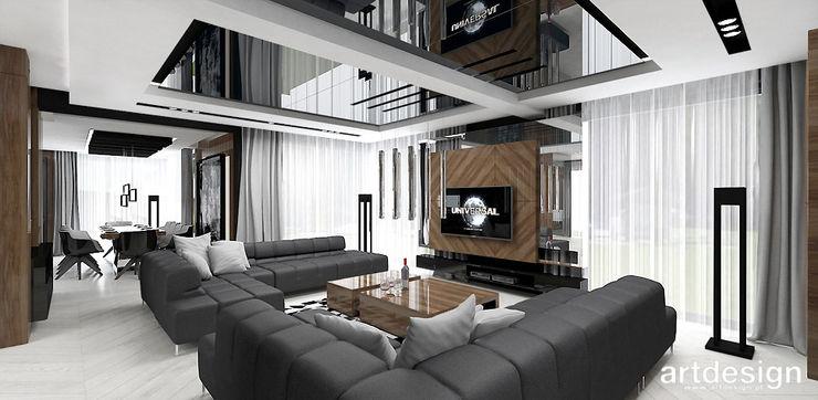 ARTDESIGN architektura wnętrz غرفة المعيشة