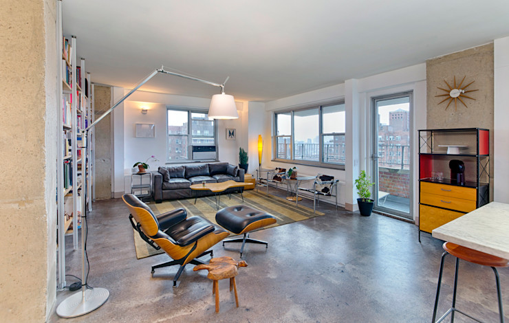 Greg Colston Architect Salon moderne