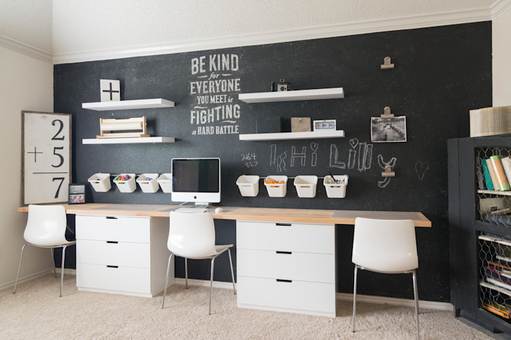 Urbanology Designs Scandinavian style study/office