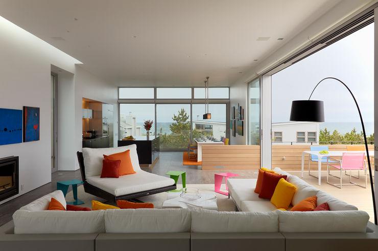 Beach Walk House SPG Architects Modern Living Room