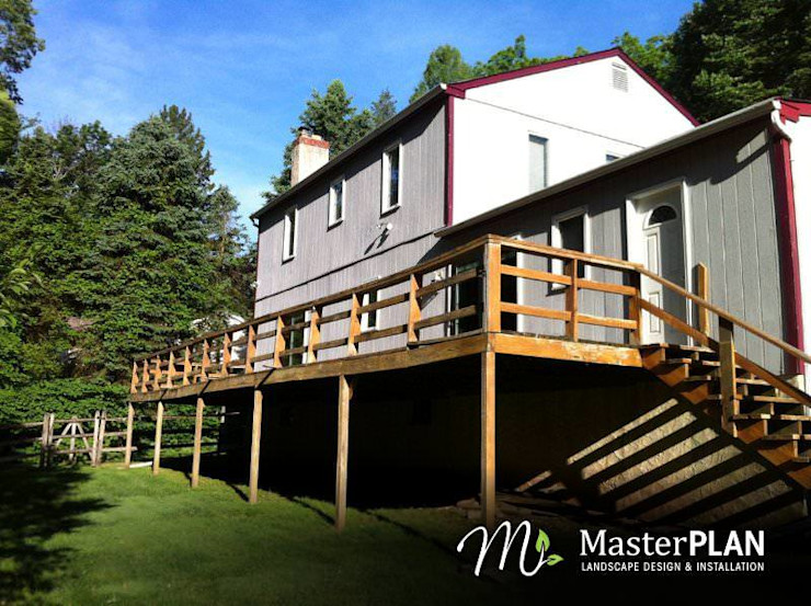 Before MasterPLAN Outdoor Living
