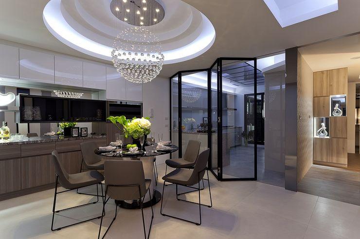 毛胚屋規劃案 Green Leaf Interior青葉室內設計 餐廳
