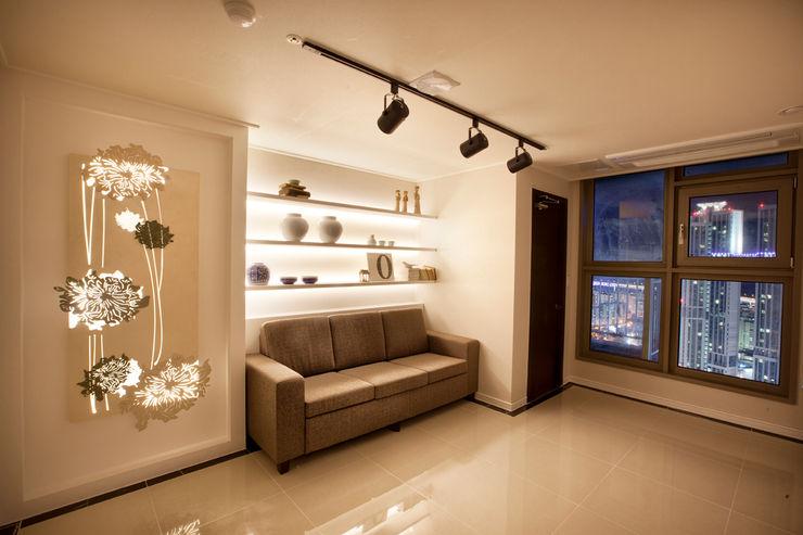 대연동 혁신팬트하우스프로젝트 보운디자인 모던스타일 침실