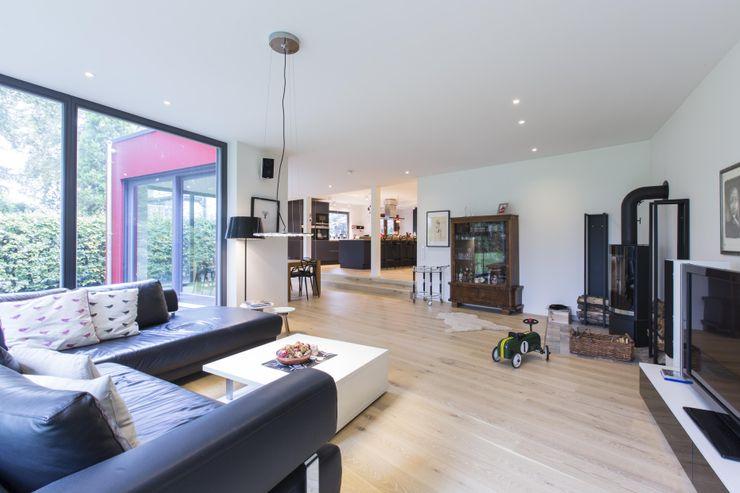Architekturbüro Prell und Partner mbB Architekten und Stadtplaner Ruang Keluarga Modern