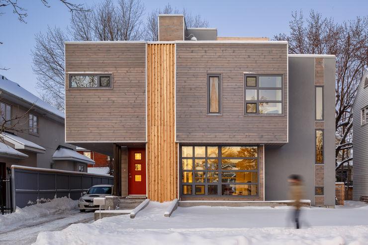 Wavell Linebox Studio Modern houses
